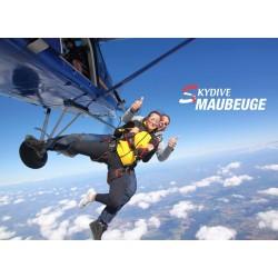 Saut en parachute tandem...