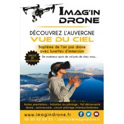 Baptème de l'air avec drone...