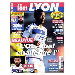 Le Foot Lyon magazine 24...